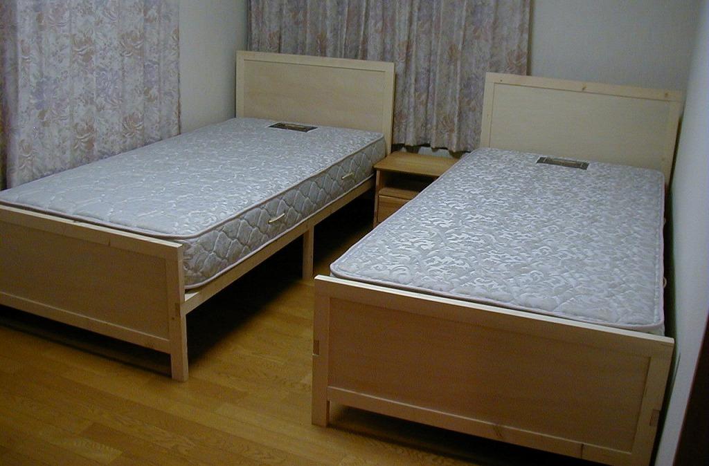 自分たちのベッド