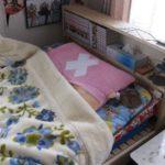 次女のベッド